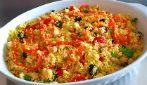 Cous cous alle verdure: il piatto leggero e saporito pronto in 10 minuti
