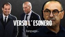 Juventus fuori dalla Champions, Sarri verso l'esonero: la lista dei nomi per la panchina