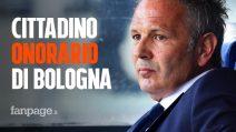 """Sinisa Mihajlovic cittadino onorario di Bologna: """"Questo uomo ci ha fatto riflettere"""""""