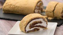 Rocambole de chocolate sem assar: a deliciosa receita que vai agradar a família toda!