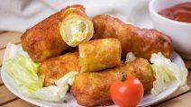 Rolinhos de couve lombarda vegetarianos: a ideia leve e saborosa para um rápido jantar em família!
