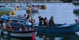 A Venezia arriva il barch-in, il cinema si ammira dall'acqua: le immagini dalla Laguna