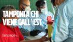 """Test sierologici a Tiburtina per chi arriva dall'Est Europa: """"Quarantena è obbligatoria per tutti"""""""