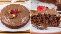 Bolo de biscoitos esfarelados de chocolate: pronto com apenas 3 ingredientes!