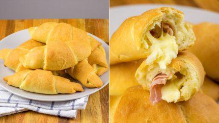 Croissants de batata: seu interior vai te conquistar desde a primeira mordida!
