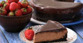 Cheesecake de chocolate: o segreto para um bolo cremoso e delicioso!