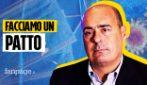 """Zingaretti a Fanpage.it: """"Ci sono scellerati che per farsi pubblicità si tolgono la mascherina"""""""