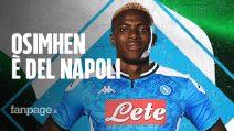 Victor Osimhen è un calciatore del Napoli: quanto è costato e i dettagli sul contratto