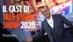 Tale e Quale Show, Carlo Conti annuncia i dieci concorrenti per l'edizione 2020