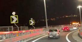 Aperto al traffico il nuovo ponte di Genova: le prime auto che transitano