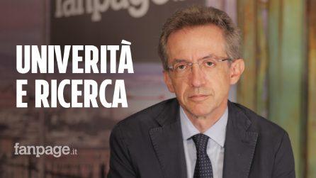 """Coronavirus, il ministro Manfredi: """"All'università un sistema misto, lezioni sia in aula che online"""""""