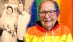 """A 90 anni confessa alla figlia di essere gay da tutta la vita e fa coming out: """"Sono libero"""""""