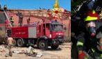 Libano, Vigili Fuoco italiani spengono fiamme al porto di Beirut