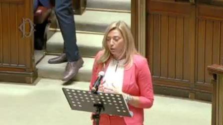 Quando la deputata Murelli (Lega) definiva il bonus 600 euro un'elemosina