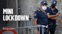 Mini lockdown nel napoletano: le persone si sono recate a lavoro nonostante la zona rossa