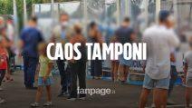 """Campania, caos tamponi per chi torna dall'estero: """"Abbiamo più probabilità di essere contagiati qui"""""""