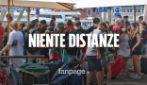"""Napoli, arrivi al porto: """"Controlli ok ma assembramenti inevitabili"""""""