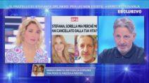 Domenica Live - Gianni Orlando e la lettera a sua sorella Stefania