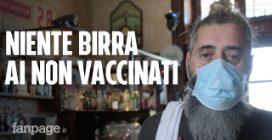 """Cuneo, nel pub che farà entrare solo vaccinati e gli immuni: """"Coperto di insulti e minacce di morte"""""""