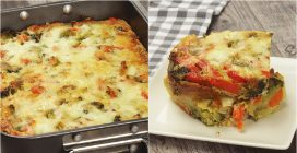 Veggie flan: the best way to make your dinner special!