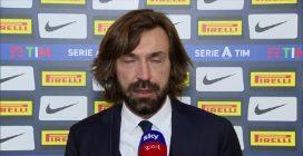 """Juve battuta dall'Inter, Pirlo: """"Atteggiamento sbagliato dall'inizio"""""""
