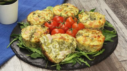 Savory minicakes: ready in no-time!