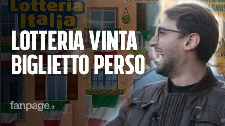 """Vince alla Lotteria Italia, ma dimentica il biglietto al bar: """"Mia madre voleva picchiarmi"""""""