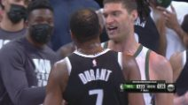 NBA, highlights: Brooklyn-Milwaukee 125-123