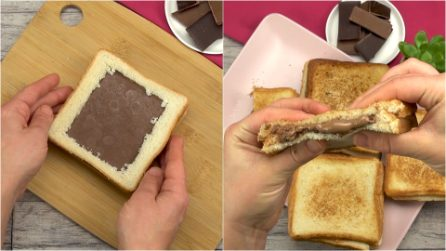 Chocolate sandwich: the snack that everyone will love!