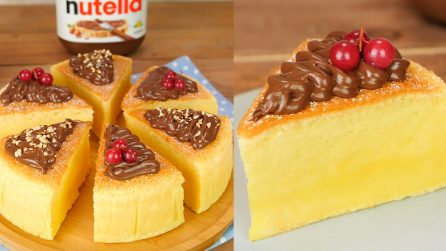Cheesecake giapponese: la torta golosa e soffice come una nuvola!