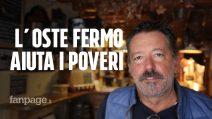 Il Covid ferma il suo ristorante e Antonio va a cucinare per la Caritas di Vicenza