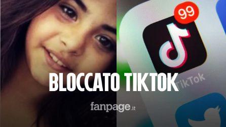 Morte bimba a Palermo, Garante della Privacy blocca TikTok per chi non ha confermato l'età