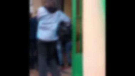 Tensioni tra studenti e polizia al liceo Kant di Roma
