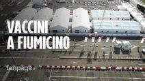 """Roma, pronto il centro vaccini Covid all'aeroporto di Fiumicino: """"Fino a 3mila al giorno"""""""