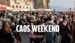 Napoli, weekend di caos e assembramenti