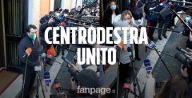 "Governo, Meloni: ""Centrodestra unito, alternativa a pantomima indegna"""