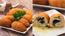 Rolinhos de frango recheados: como deixá-los crocantes no forno!