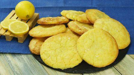 Biscoitos macios de limão: derretem na boca!