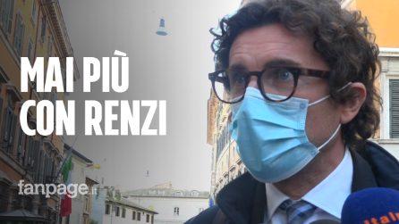 """Crisi di governo, Toninelli (M5S): """"Mai più con Renzi, invece parliamo con i renziani"""""""