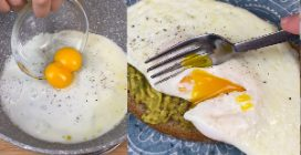 Runny yolk omelette: a delicious idea to try!