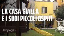 Bologna, dentro la Casa Gialla che ospiti i piccoli pazienti oncologici e i loro genitori