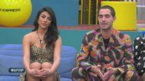 Grande Fratello VIP - Il confronto fra Tommaso e Giulia dopo la votazione del finalista