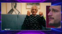 Grande Fratello VIP - Il videomessaggio del nonno di Andrea Zelletta