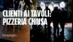 """Modena, controlli nella pizzeria aperta di sera: """"Distruggete tutto per una pandemia che non esiste"""""""