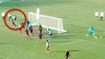 Ibrahimovic incanta con il suo pezzo forte: gol con colpo dello scorpione