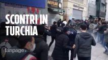 """Scontri in Turchia, il regime di Erdogan contro gli studenti """"Picchiati e molestati da agenti"""""""