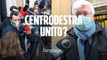 """Centrodestra, Salvini: """"Elezioni via maestra"""" Romani: """"Governo Draghi dà garanzie"""""""