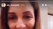 """Alessandra De Angelis incinta col Covid: """"Finalmente negativa"""""""