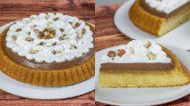 Chocolate and hazelnut cake: so sweet and so good!