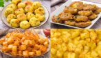 4 recipe to make potatoes in an original way!